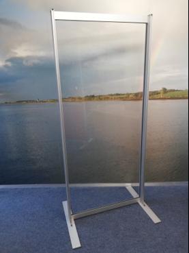 Aluminium and Acrylic Screen