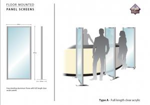 Type A - Alu-Clear Acrylic Screens