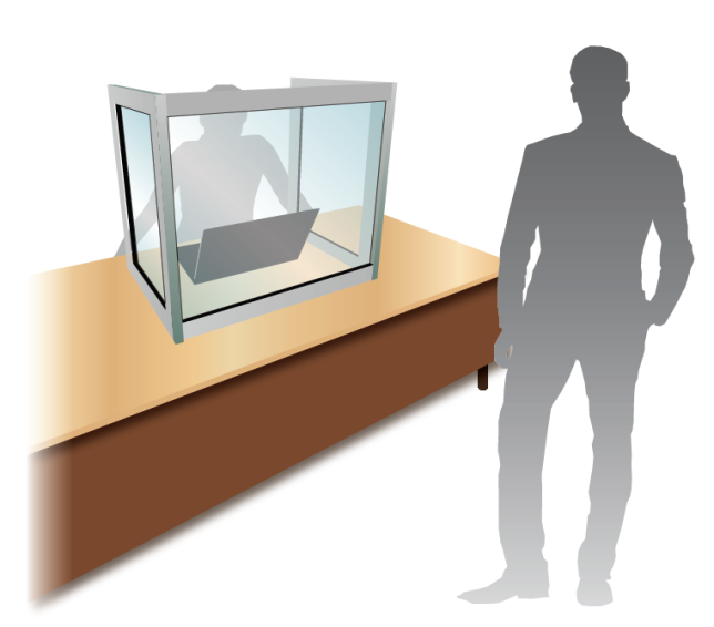 Aluminium Frame Desktop Unit