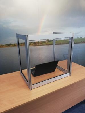 Aluminium Framed Desk Top Unit CC